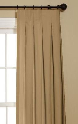 Box Inverted Pleat