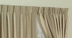 pencil & pinch pleat heading | curtains on the net