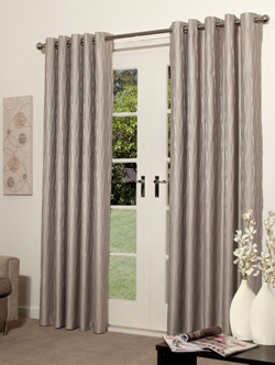 Catalina Eyelet Block Out Ready Made Curtain Pairs