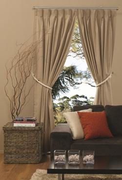 Denver Pinch Pleat Curtains - Blockout