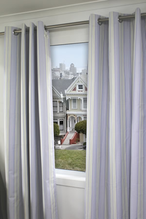 Nova Eyelet Curtain Blockout