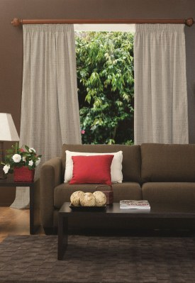 Urban Pencil Pleat Curtains - Block Out