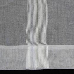 Aiden Pencil Pleat Sheer Stripe Ready Made Curtain
