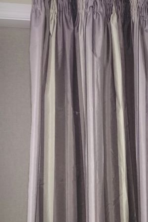 Casa Pencil Pleat Block Out Ready Made Curtains