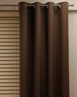 Chelsea Eyelet Block Out Ready Made Curtains