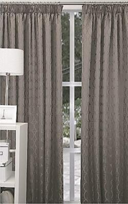 Elements Pencil Pleat Dim Out Ready Made Curtains