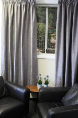 Ellwood Lined Pencil Pleat Dim Out Ready Made Curtains
