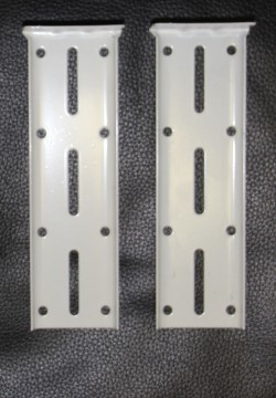Extendable Track Double End Brackets Pair