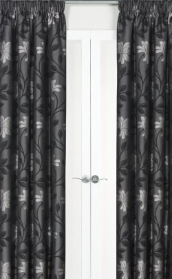 Fresco Pencil Pleat Fully Lined Curtains - Dim Out