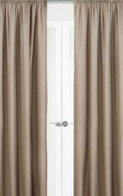 Harlow Pencil Pleat Curtains - Blockout
