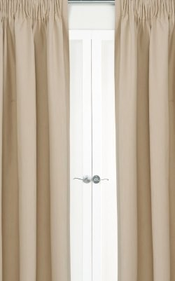 Kalahari Pencil Pleat Curtains - Blockout