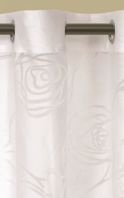 Korora Eyelet Sheer Ready Made Curtains