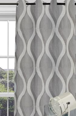 Langton Eyelet Block Out Ready Made Curtains