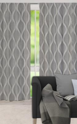 Langton Pencil Pleat Block Out Ready Made Curtains