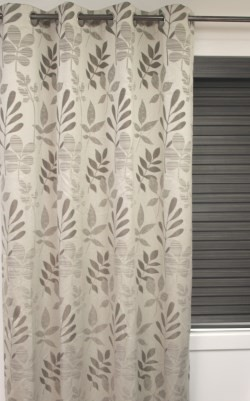 Oak Eyelet Curtain Blockout
