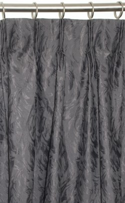 Quay Pinch Pleat Curtains - Block Out