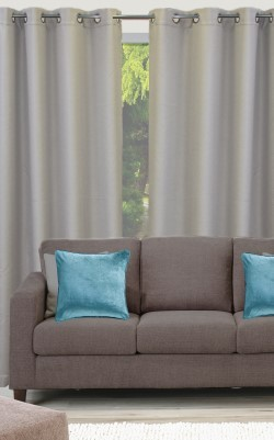 Reeve Eyelet Triple Weave Ready Made Curtain Pairs