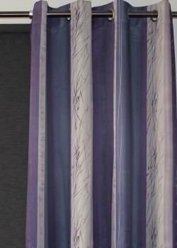 Roma Eyelet Curtain Triple Weave