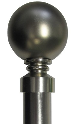 28mm Ball Finial Rod