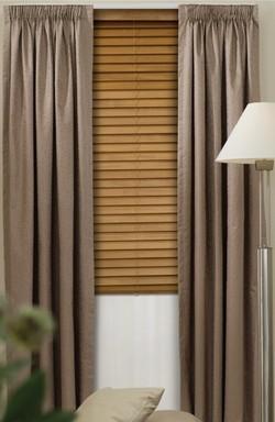Escada Flower Pencil Pleat Curtains - Block Out