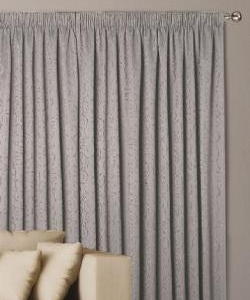 Abigail Pencil Pleat Block Out Ready Made Curtains