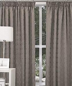 Elements Pencil Pleat Curtains - Dim Out