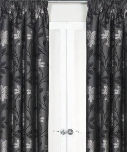 Fresco Lined Pencil Pleat Curtains Dim-Out