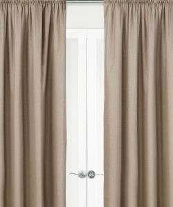 Harlow Pencil Pleat Curtains - Block Out