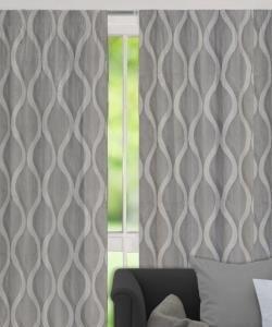 Langton Pencil Pleat Curtains - Block Out