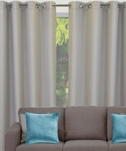 Reeve Eyelet Curtain in Pairs Triple Weave