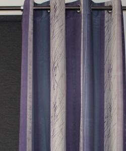 Roma Eyelet Curtain Triple Weave