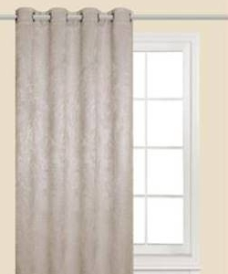 Shimmer Eyelet Curtain Triple Weave