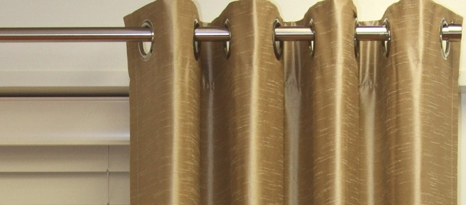 QUALITY READY- MADE EYELET CURTAINS 50% OFF!
